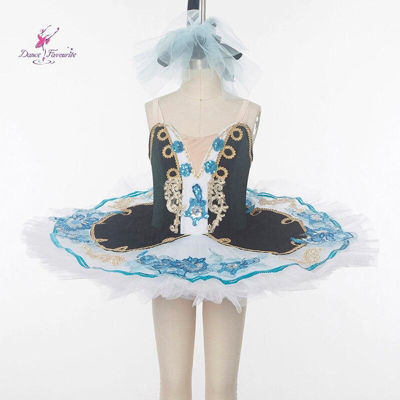 New Pre-professional Ballet Tutu Girl Red Ballet Tutu Girl Stage Ballet Costumes Ballerina dance tutu Dark Green Tutu