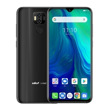 "Téléphone portable Ulefone Power 6 Android 9.0 6.3 ""FHD Helio P35 Octa Core 4GB + 64GB 16MP identification de visage positionnement GPS 4G Smartphone 6350mAh"
