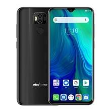"Ulefone 電源 6 携帯電話アンドロイド 9.0 6.3 ""FHD エリオ P35 オクタコア 4 ギガバイト + 64 ギガバイト 16MP 顔 Id Gps 測位 4 3g スマートフォン 6350 mAh"