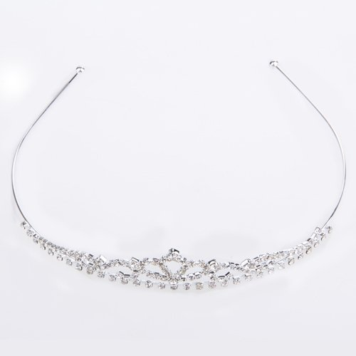 TFGS 10 x Wedding Bridal Crystal Rhinestone Tiara Crown Headband HOT