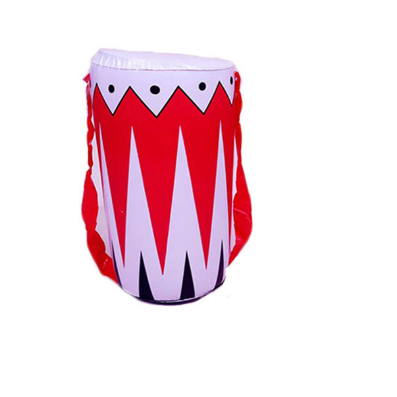 5pcs/set PVC Inflatable Toy Drums Toys Children Costume Inflatable Game Toys Drum Plastic Kids Music Instrument Toys