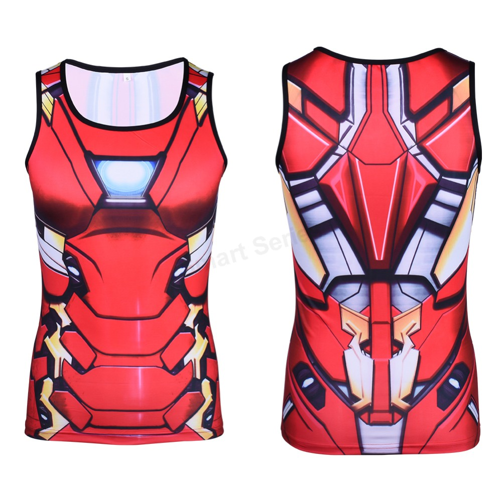 Männer Bodybuilding Super hero Superman Ironman Capital America Black Panther Gedruckte Cosplay t-shirt Compression Fitness Tops