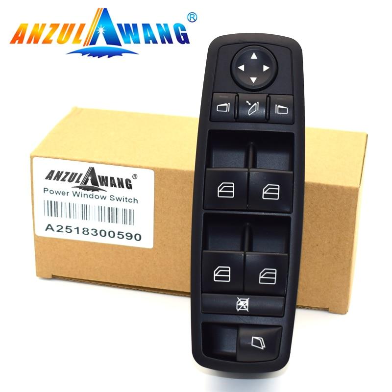 Window Master Switch For 05-12 Mercedes Benz GL R Class GL350 GL450 GL550 W164