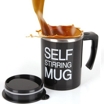 NEW & IMPROVED Self Stirring Mug - 2nd Generation