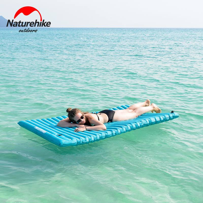 2017 lightweight inflatable sleeping pad air mattress. Black Bedroom Furniture Sets. Home Design Ideas