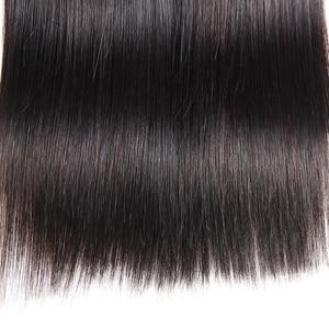 Image 5 - Joedir Hair Peruvian Straight Hair Bundles With Closure Human Hair Weave Bundles With Closure 3 Bundles With Closure Non Remy