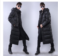 Free shipping !!!The man with long down jacket Male new winter thickening over the knee big yards down jacket to keep warm coat