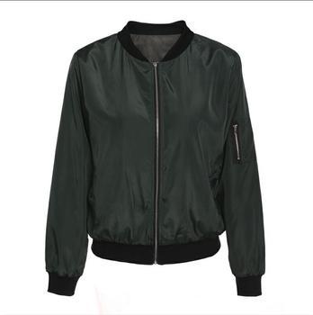 Summer Women Windbreaker Jacket New Fashion Women Thin Basic Bomber Jacket Long Sleeve Coat Casual Female Jacket Outerwear 7