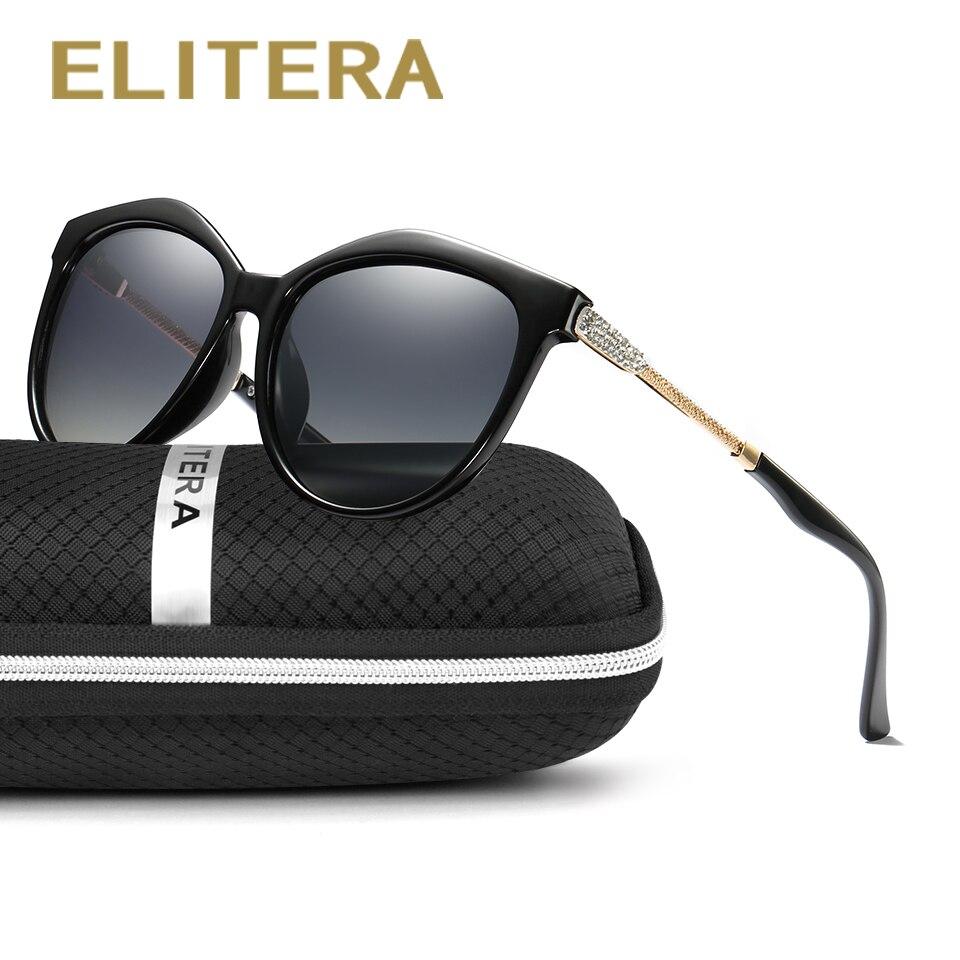 ELITERA New High Quality Polarized Sunglasses Women Brand De