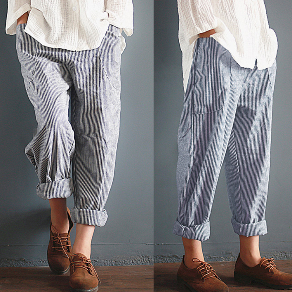 a48f7b409f4ff ᗚ Online Wholesale loose cropped harem pants and get free shipping ...