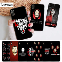 Lavaza La Casa De Papel Money Heist Silicone Case for iPhone 5 5S 6 6S Plus 7 8 11 Pro X XS Max XR