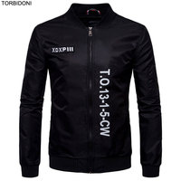 2017 Spring Printed Jackets Men S Coats 5XL Mens Brand Clothing Casual Pilot Jackets Embroidery Logo