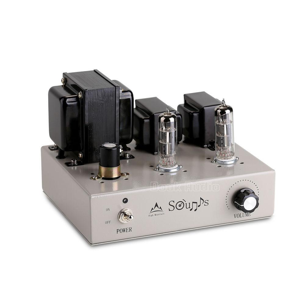 Music Hall Lastest Mini 6F3 Class A Vacuum Tube Amplifier Stereo HiFi Power Amp 4W*2-in ...