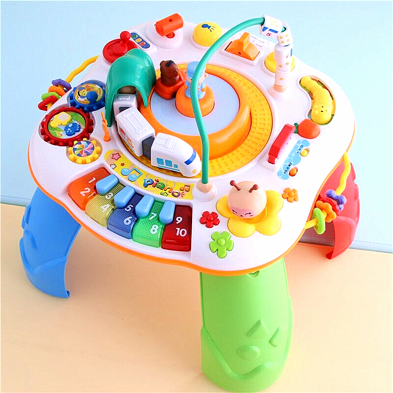 Travel Train Growing Baby Pop N Activity Table Baby