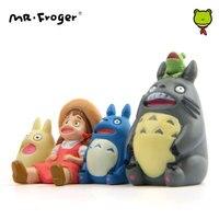 Mr. Froger Yıldızlı bakarak Set Minyatür Mei Kurbağa Şekil Eylem Japon Anime Figürleri Mini Figma Heykelcik Doll çocuk Oyuncakları
