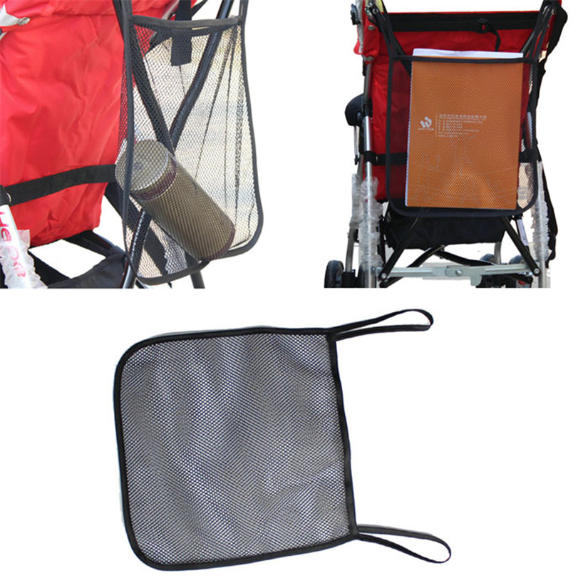 Newest 2017 New Storage Baby Stroller Carrying Bag Baby Stroller Mesh Bag A Net BB Umbrella Car Accessor dig666