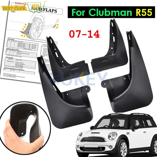Xukey Front Rear Mud Flap Flaps For Mini Cooper Clubman R55 2008