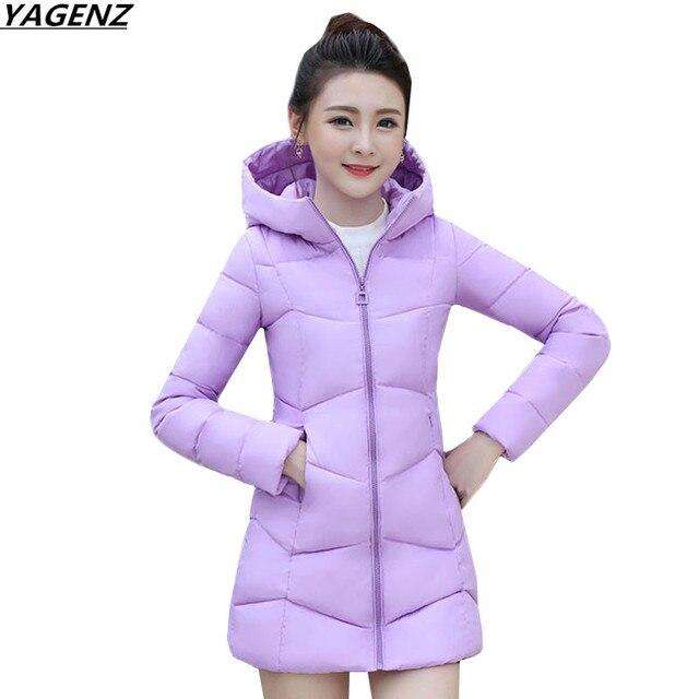 Winter Jacket 2017 New Women Thicken Warm Hooded Jackets Coats Parkas Female Medium Long Outwear Large Size Down Cotton Jacket