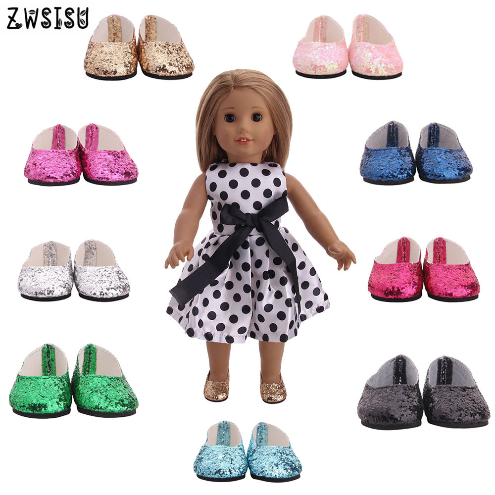 Doll Shoes Design For 18 Inches American Doll And 1//3 BJD Doll Baby Fashion Gift