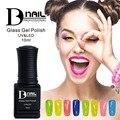 BD 12pcs/set 20colors glass uv gel polish Pure color transparent soak-off nail gel polish Manicure UV gel
