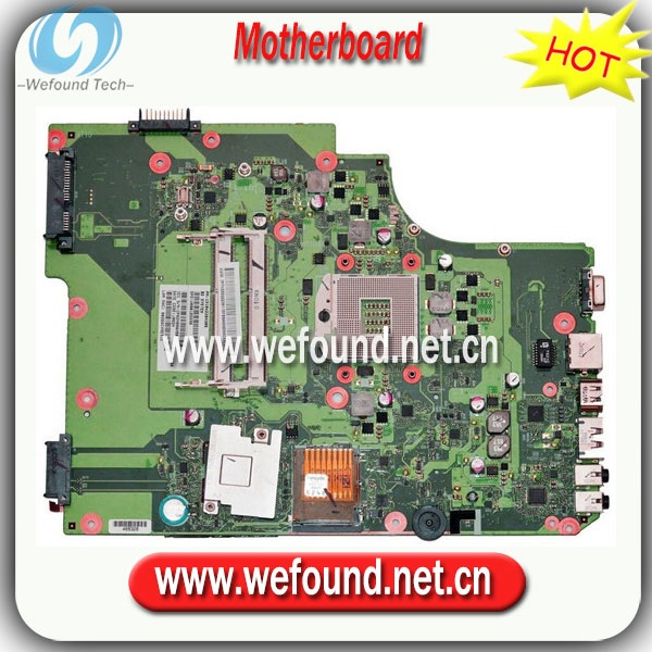 все цены на  100% Working Laptop Motherboard for toshiba L505 6050A2284301-MB-A02 V000185590 Series Mainboard,System Board  онлайн
