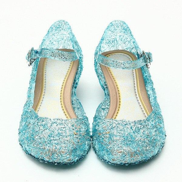 2018 baby schuhe mädchen sandalen anna & elsa Kinder baby schuhe elsa prinzessin und cosplay schuhe party und Komfortable freies verschiffen 945