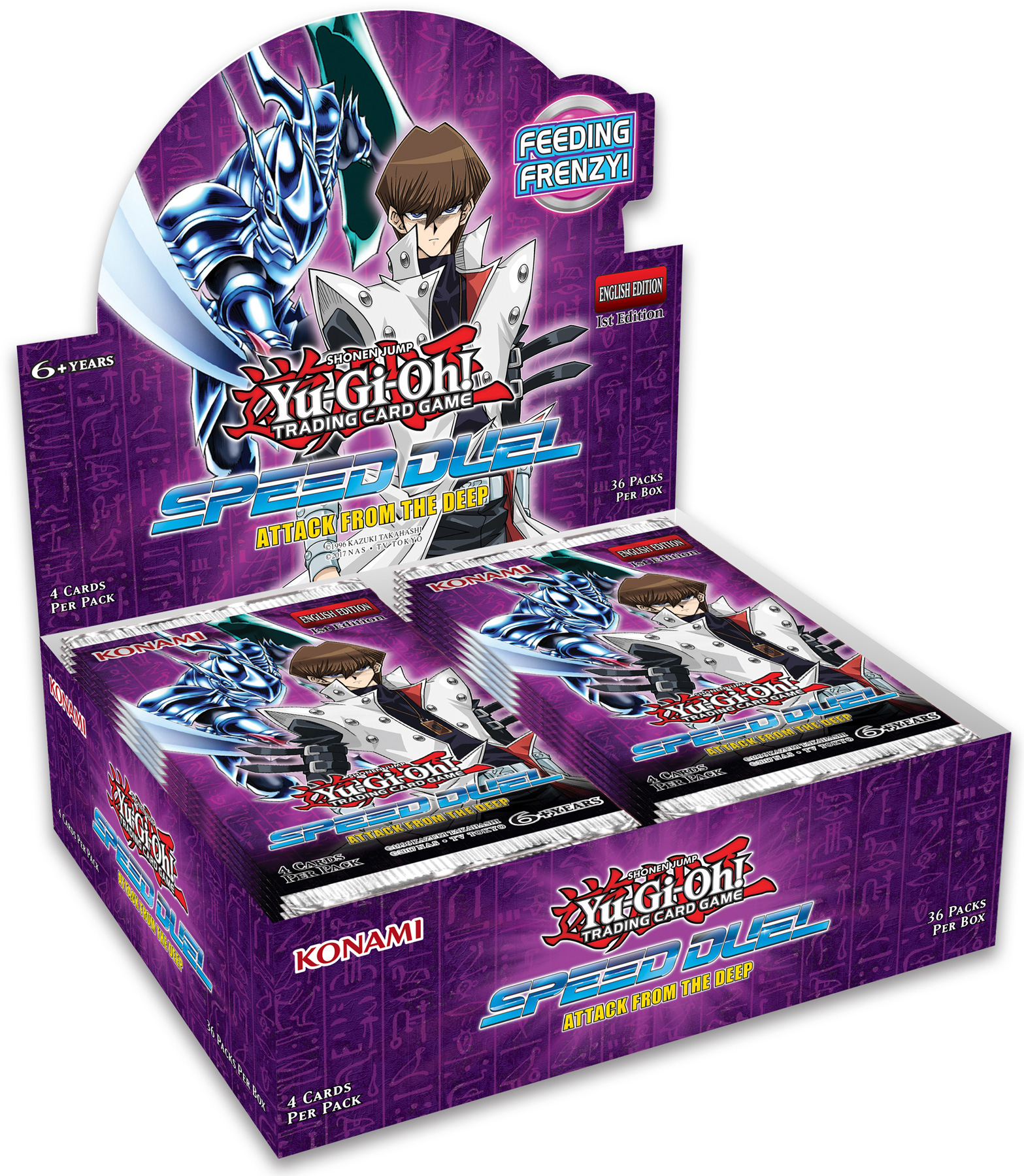 Yu Gi Oh Original US-European Version High-speed Duel Speed Duel Attack From The Deep