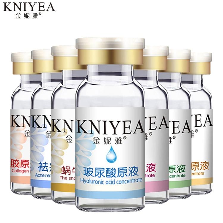 Hyaluronic Acid 10ml hydrating Moisturizing glass uric acid essence Face Skin Whitening Anti Wrinkle Cosmetics cosmetics