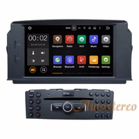 The Newest Android7.1 Car DVD Player GPS Navigation Stereo Radio Unit For MERCEDES BENZ C Class C200 C180 W204 auto multimedia
