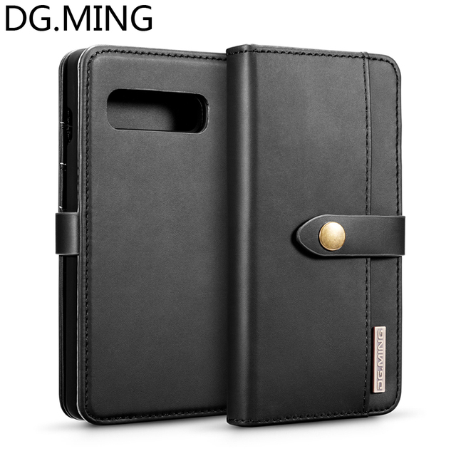 sports shoes 94ed9 65bbf US $9.91 30% OFF Notepad style Card Pocket Phone Cases for Samsung Galaxy  S10 Plus S10+ S10e Case Cover PU Leather Split Magnetic PC Back Cover-in ...