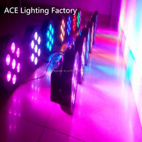 12pcs Lot Free Fast Shipping American DJ 7x 12W RGBW 4IN1 LED SlimPar LED Stage Uplighting
