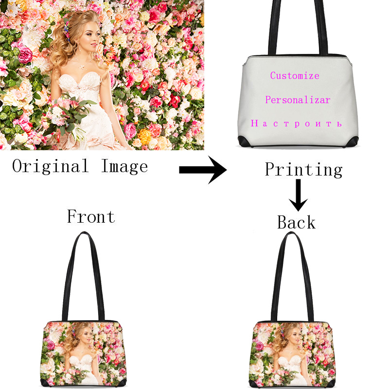 VEEVANV Personnalisé Votre Image Nom Logo sacs pour femmes Mode Doux courroie en cuir Sacs de Soirée décontracté sacs forme coquillage sacs à bandoulière