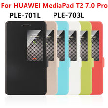 Case PU For Huawei MediaPad T2 7.zero Pro Smart cowl Protective Leather Tablet For HUAWEI Youth PLE-701L PLE-703L Case Protector