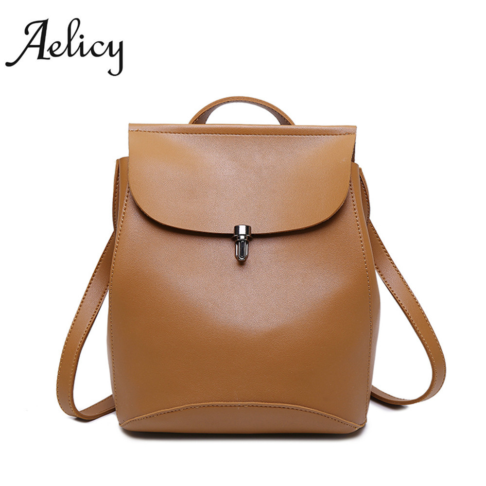 2017 Aelicy Preppy Style Backpack Fashion Backpack For Teenage Girls Ladies School Bags For Girls bolsos mujer mochila masculina цена