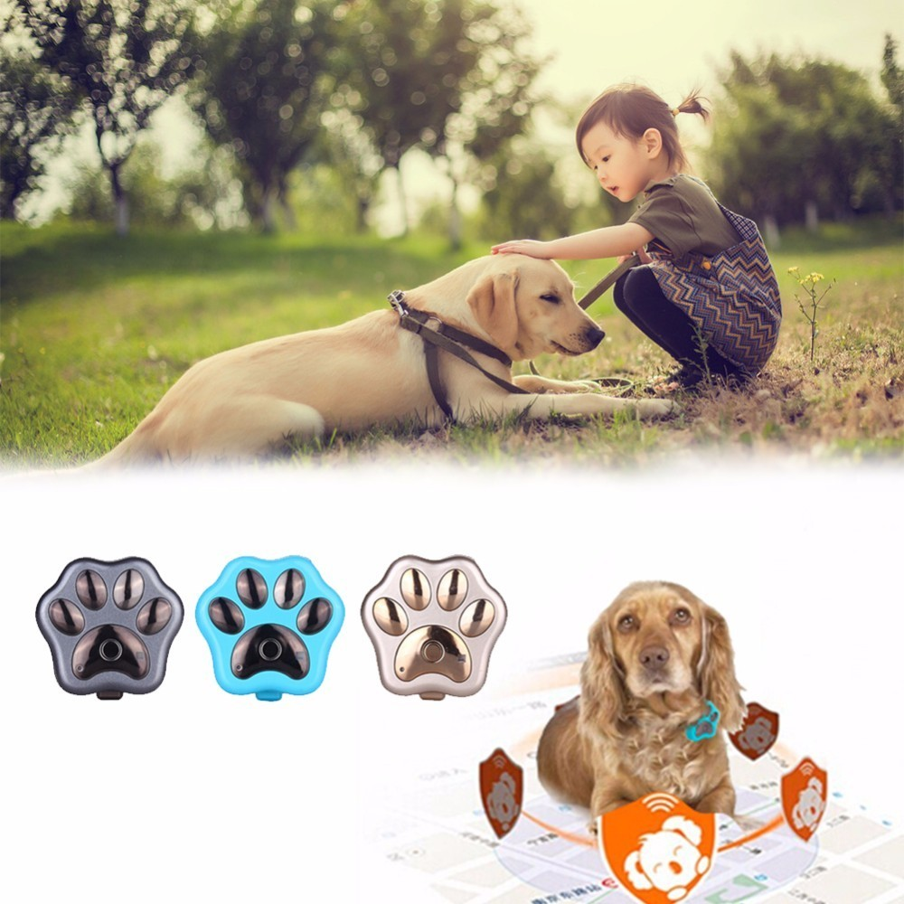 Nuevo llega rf-v30 Smart GPS LED intermitente mascota electrónica anti-perdida Tracker micro impermeable WiFi Seguridad alarma buscador de perro localizador