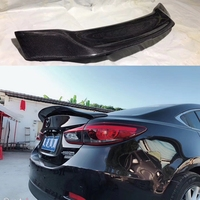 for Mazda 6 2015 2018 atenza spoiler high quality carbon fiber car rear spoiler for Mazda 6 atenza R style spoiler
