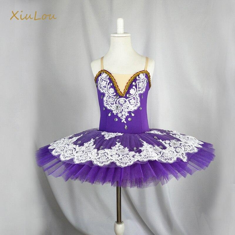 2019 ballerina purple professional ballet tutu child girls kids woman adulto ballet tutu dress dance dress