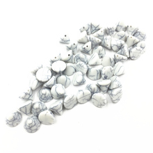 100Pcs Gray Spacer Beads Crack Cone Acrylic Fashion Jewelry DIY Findings Charms 10mm