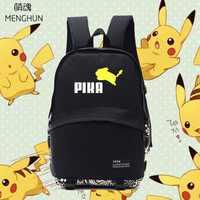 Lovely jumping Pikachu school bags Pikachu lovely backpacks POKEMON concept daily wear backpacks anime game fans gift NB251