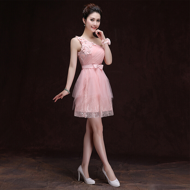 Sweetheart Neck Tulle Light Pink Dresses