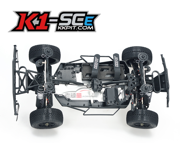 DHL/EMS Free shipping KKPIT 1:10 Motor-driven Cross-country Short track Kit Frame K1 SCE Remote Control Model Vehicle RC hobby dhl ems 1pc original servo motor msma152a1g