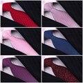 8 cm Homem Cavalheiro Laços Dos Homens Amarra a Gravata Do Noivo Festa de Casamento Formal Gravata Laços de Seda Poliéster Para Homens GFBEa