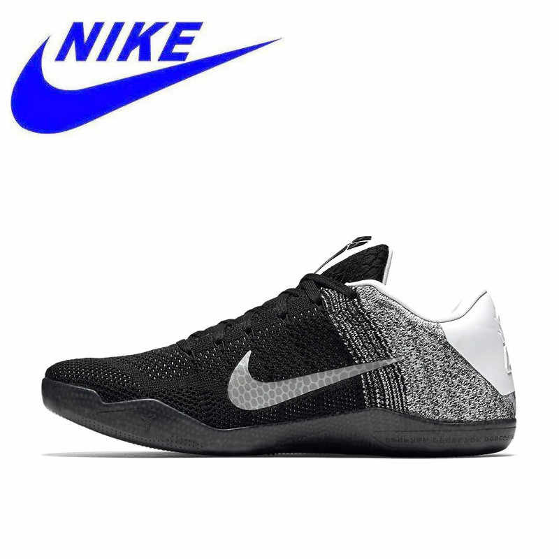 a5c8640ed59 Original Nike New Arrival Authentic Kobe 11 Elite Low Men s Breathable Basketball  Shoes Sports Sneakers 822675