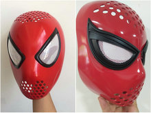 Cosplay The Amazing Spider-Man 2 Spider Helmet spiderman homecoming Spider-Man Faceshell With Lenses Spiderman Mask Faceshell