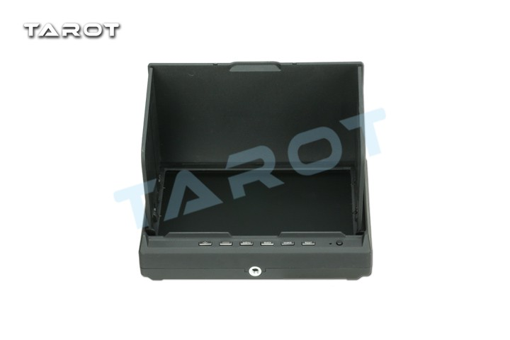 Tarot 5.8 G 32 Frequency Double Receiver 7 Inch LCD HD FPV Monitor Aerial Displayer Wireless AV Diversity RX TL2967 F19375