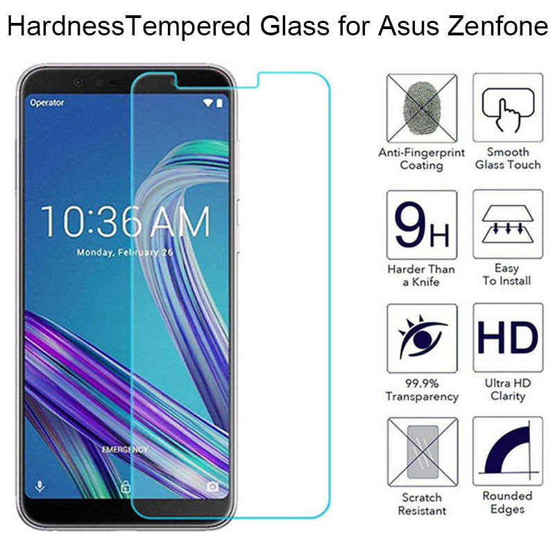 9H HD Glass for Asus Zenfone Go TV Live L1 Selfie ZA550KL ZC500TG ZB551KL ZB452KG ZB501KL Glass on Zenfone 6 A600CG A601CG Glass