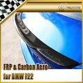 Автомобиль стайлинг Для BMW F22 EXOT Стиль Углеродного Волокна Задний Спойлер