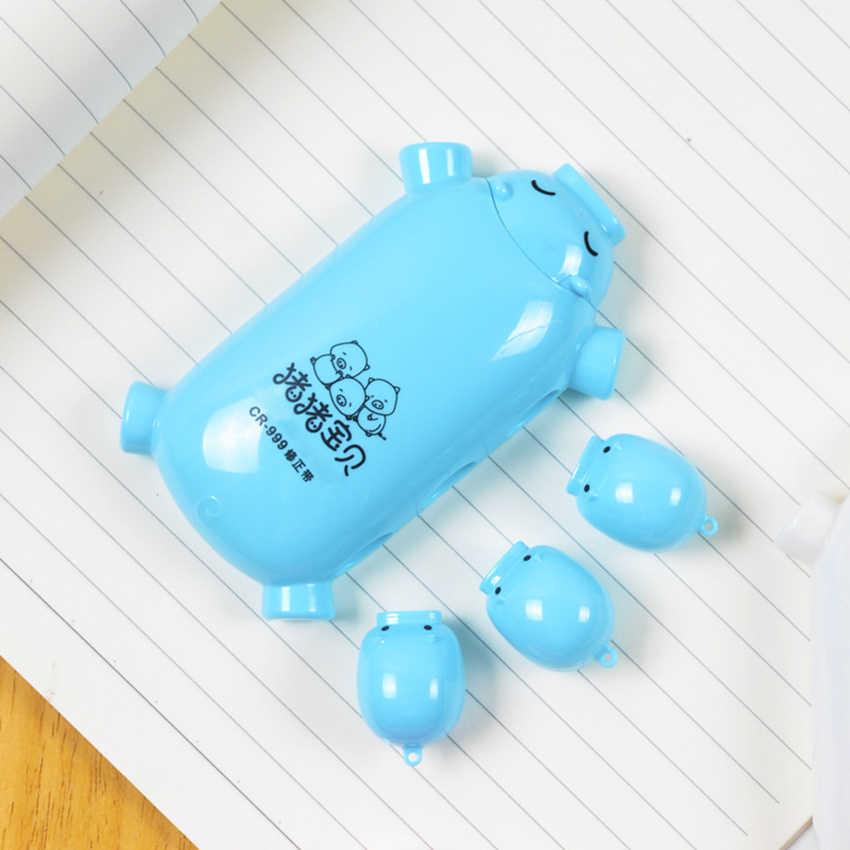 8m * 5mm nowość Cartoon Piggy korektor w taśmie szkolne dzieci biurowe korektor studentów Kawaii korektor w taśmie