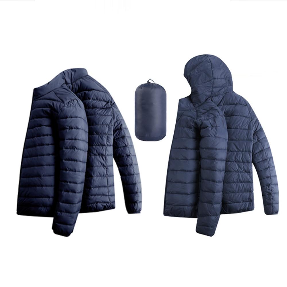 HTB1Ckg.XsvrK1Rjy0Feq6ATmVXai Jacket Men Autumn Winter Style Light Weight Overcoat Outerwear Coats Cotton Warm Hooded Men's Jacket Coat chaqueta hombre S-2XL