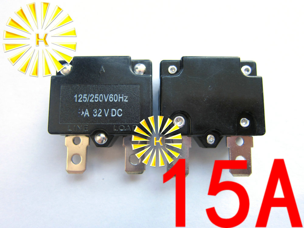 1x thermal switch circuit breaker overload protector overload switch HC